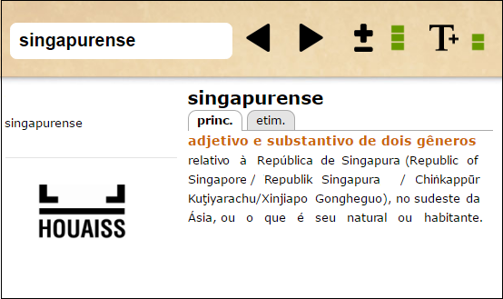 singapurense