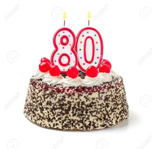 32503927-birthday-cake-with-burning-candle-number-80-stock-photo-birthday-years-anniversary