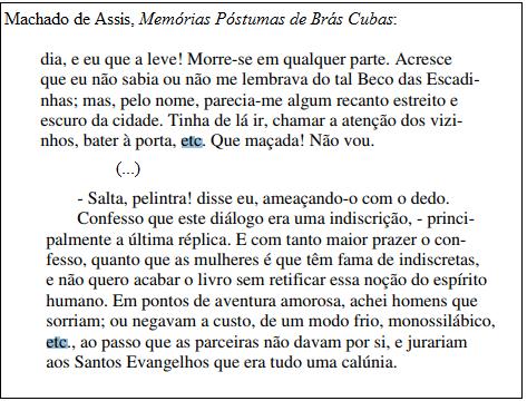 Etcétera Pontuação Dicionarioegramaticacom